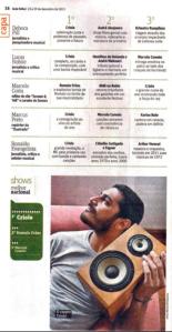 Melhor shows Guia Folha 2013